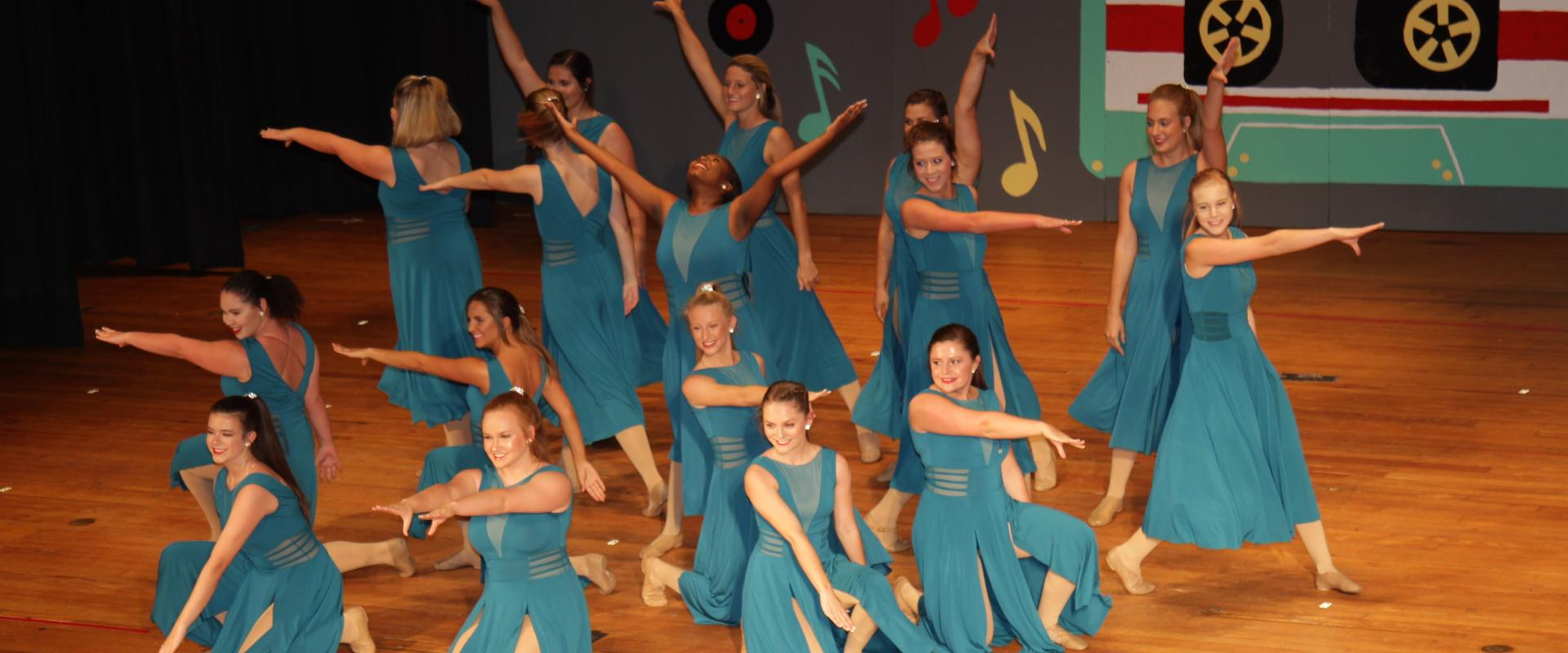 Group Lyrical Dance Recital in Orangeburg
